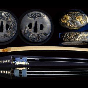 """打刀用の拵え一式""""Koshirae"""" (short sword mountings)"""