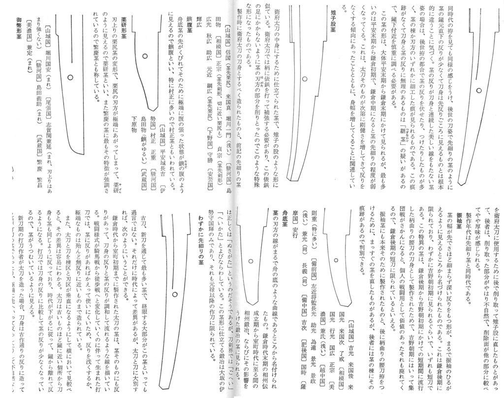 茎の種類 - 日本刀・刀剣販売・買取【日本刀オークション】