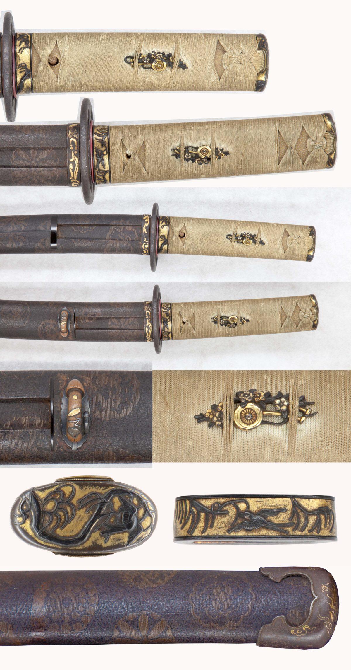 素晴らしい刀装具の数々。藩主の脇差しか・・・
